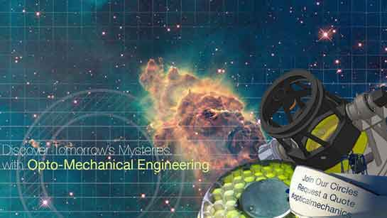 Opto-mechanical Engineering social media graphic Vortex Business Solutions
